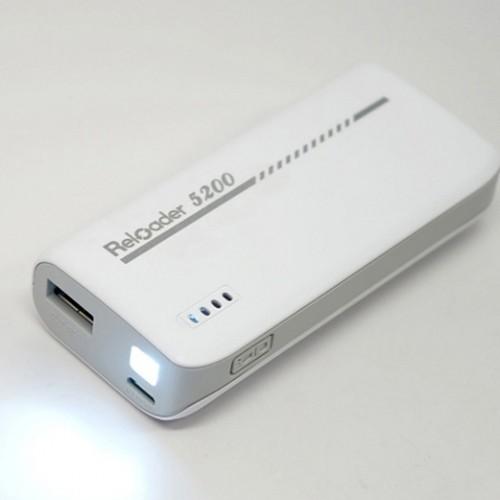 Pin sạc dự phòng Reloader 5200mAh (1 cổng usb)