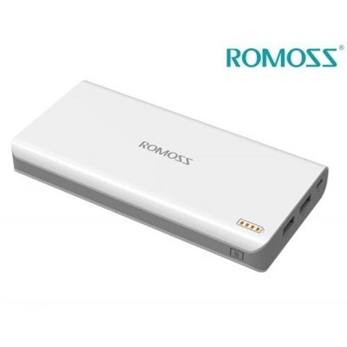 Pin sạc dự phòng Romoss Solo 6 PH80 - 16000mAh (2 cổng sạc)