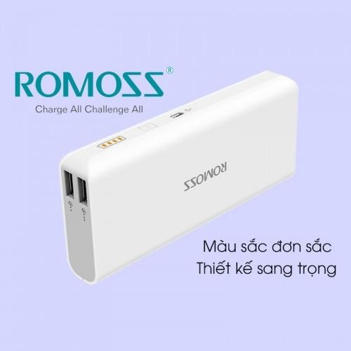 Pin sạc dự phòng Romoss Solo 5 - PH50 (10000mAh 2 cổng sạc)