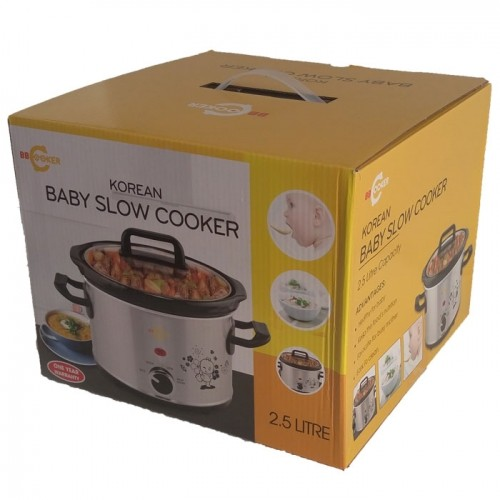 Nồi nấu cháo điện cho bé ăn dặm BBCooker 2.5L Hàn Quốc