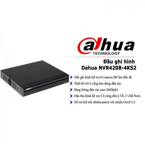 Đầu ghi hình Dahua NVR4208-4KS2 - 4 kênh - OKBUY vn