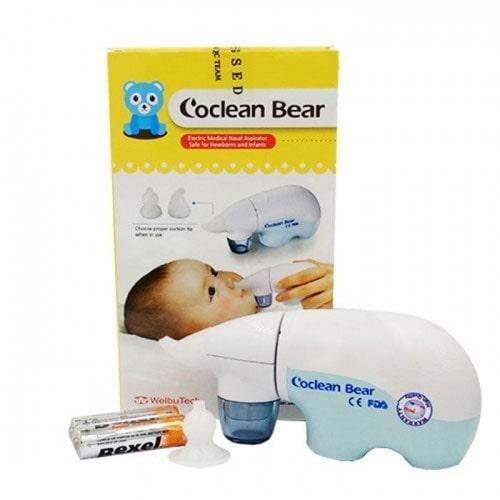Máy hút mũi cho bé Hàn Quốc Welbutech CO-CLEAN DUCK/ BEAR