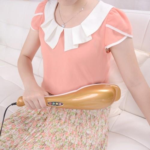 Máy massage cầm tay cá heo 3 đầu Puli PL-606B - Điện tử