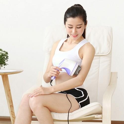 Máy massage bụng cầm tay 4 đầu hồng ngoại Puli PL-603B