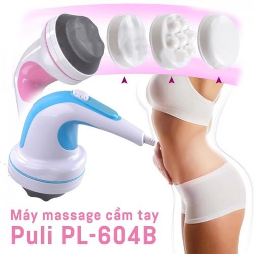 Máy massage bụng cầm tay 4 đầu Puli PL-604B - Cơ