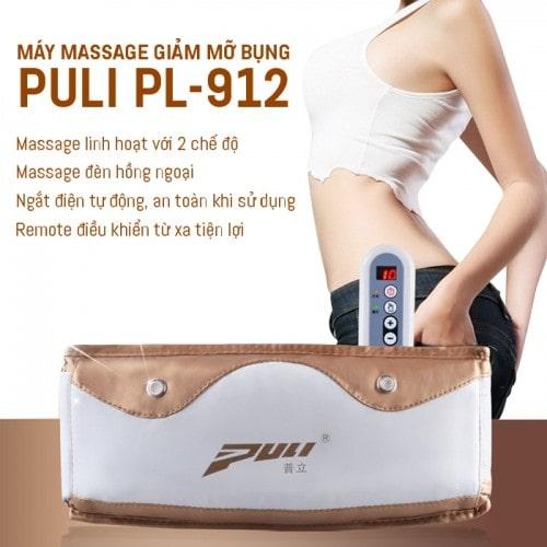 Máy massage giảm mỡ bụng Hàn Quốc Puli PL-912