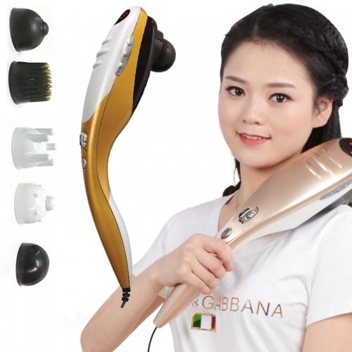 Máy massage cầm tay cao cấp 5 đầu Puli PL-610A - Cơ