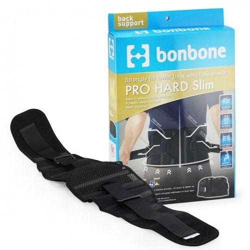 Đai cố định cột sống lưng Nhật Bản Bonbone Pro Hard Slim Black S, M, L, XL
