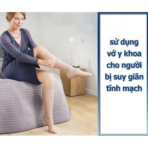 Vớ đùi y khoa chống giãn tĩnh mạch Belsana Classic AG Đức