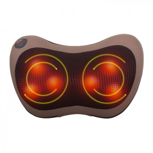 Gối massage đèn hồng ngoại 6 bi Magic Pillow Puli PL-819B