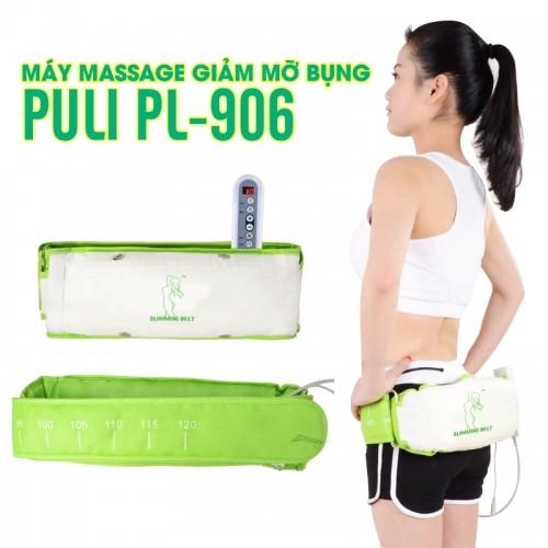 Máy massage giảm mỡ bụng cao cấp Puli PL-906