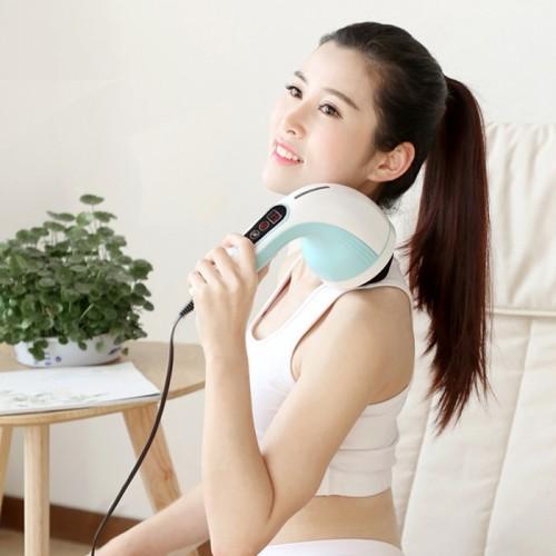 Máy massage bụng cầm tay 8 đầu Puli PL-607AC3 - Điện tử