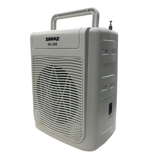 Loa trợ giảng công suất lớn 3 micro Shuke SK388 - Có remote