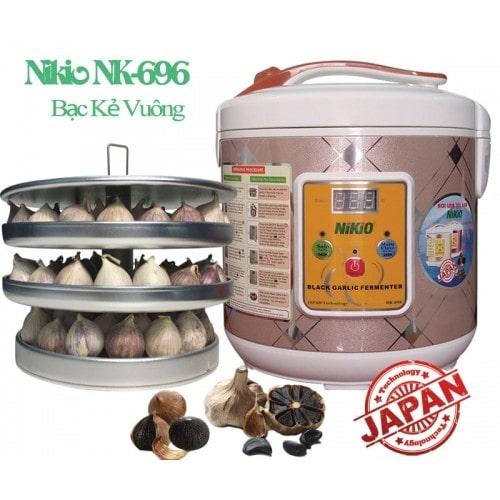 Máy làm tỏi đen chuyên dụng Nhật Bản Nikio NK-696 - 6 lít/ Bạc