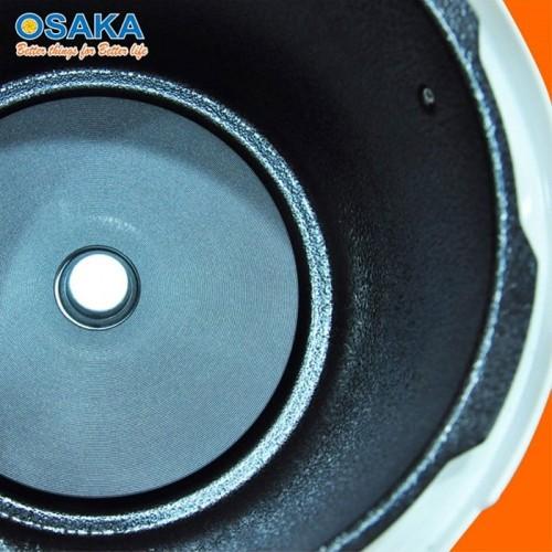 Nồi áp suất điện lòng inox Nhật Bản Osaka IPM-06SS 6L - Bạc