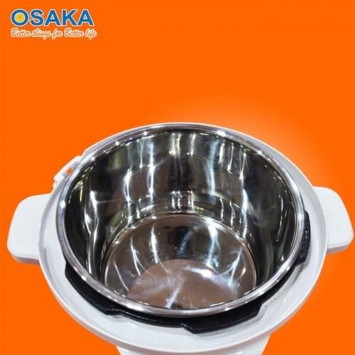 Nồi áp suất điện tử lòng inox Nhật Bản Osaka IPD-06GE - 6L