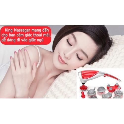 Máy massage cầm tay 10 đầu King Massager Korea