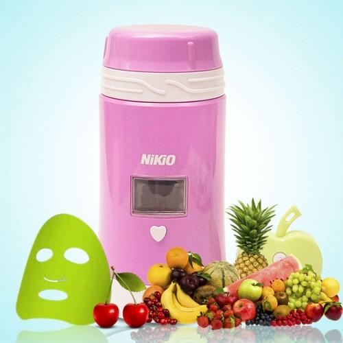 Máy làm mặt nạ trái cây tươi và đo độ ẩm da Nikio NK-A018