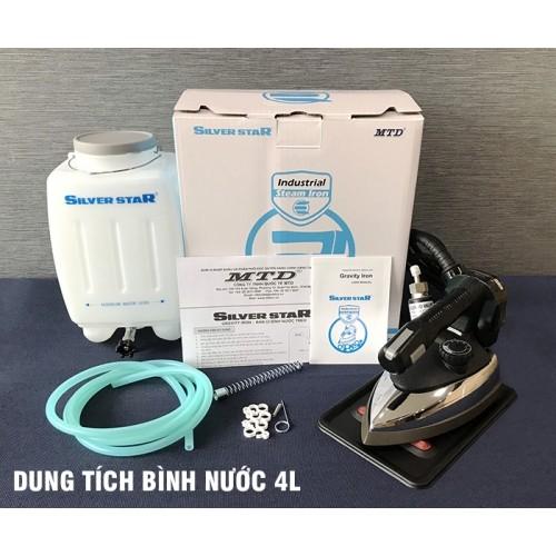 Bàn ủi hơi nước bình treo Hàn Quốc Silver Star ES-94AN
