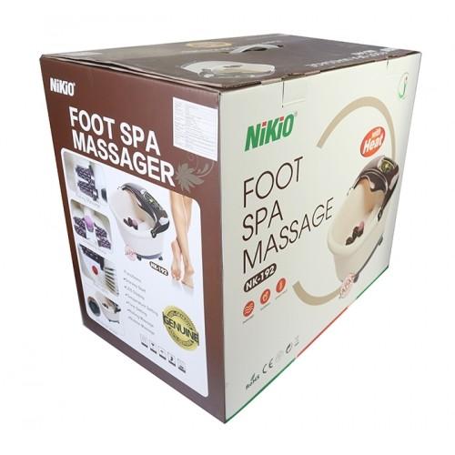 Bồn ngâm chân massage Nikio NK-192 - Cải thiện giấc ngủ, giảm stress