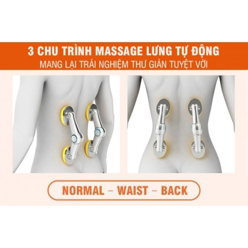 Ghế massage toàn thân cao cấp Nhật Bản Nikio NK-181 - Xoa bóp, đấm bóp, áp suất khí, nhiệt hồng ngoại