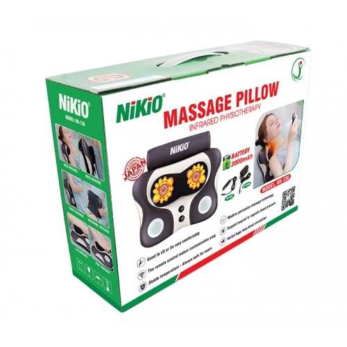 Máy massage lưng, cổ đấm bóp hồng ngoại Nikio NK-136AC
