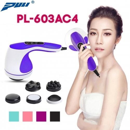 Máy massage bụng cầm tay 4 đầu Hàn Quốc Puli PL-603AC4