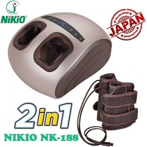 Máy massage chân áp suất khí Nhật Bản Nikio NK-188 - Trị suy giãn tĩnh mạch