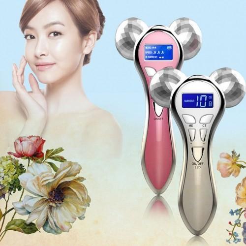 Máy massage nâng cơ mặt điện xung 4D KM-828 - Pin sạc