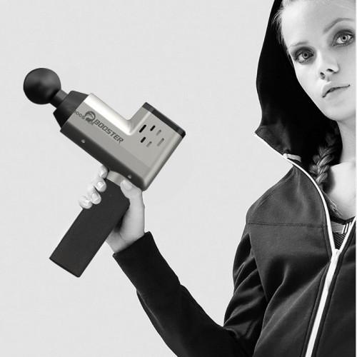 Súng massage gun trị đau cơ bắp căng cơ Booster T - 126W