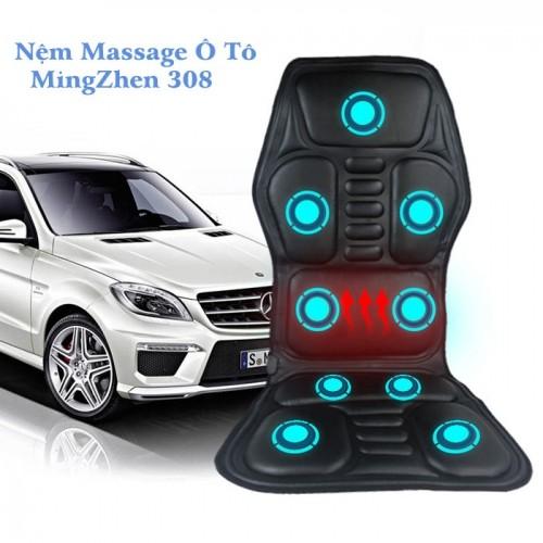 Ghế đệm massage ô tô có nhiệt sưởi tạo nóng MingZhen 308