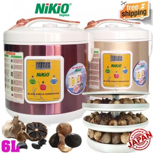 Máy làm tỏi đen chuyên dụng Nhật Bản Nikio NK-696 - 6 lít