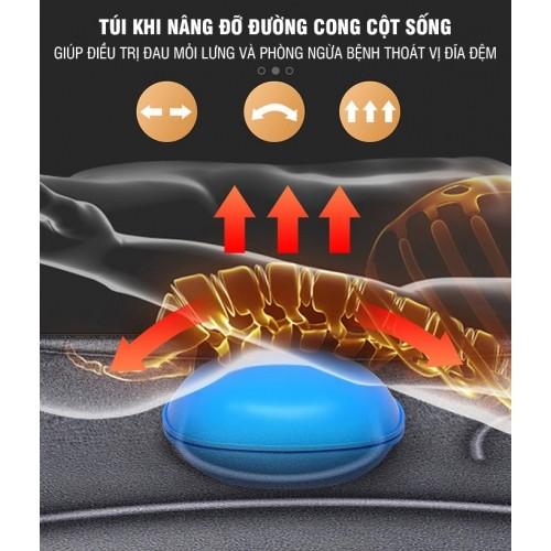Nệm massage toàn thân đa năng rung và sưởi ấm YIJIA YJ-306K