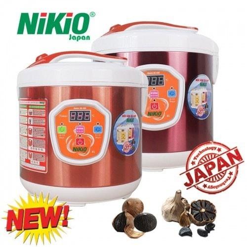 Nồi làm tỏi đen tùy chỉnh Nhật Bản Nikio NK-686 - Model 2019