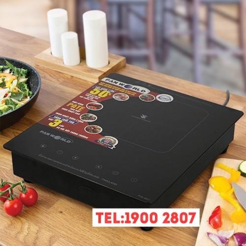 Bếp điện từ đơn âm bàn hoặc để bàn Thái Lan Panworld PW-866