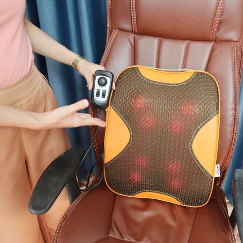 Máy massage lưng hồng ngoại 8 bi Puli PL-803A-W - Hàng cao cấp