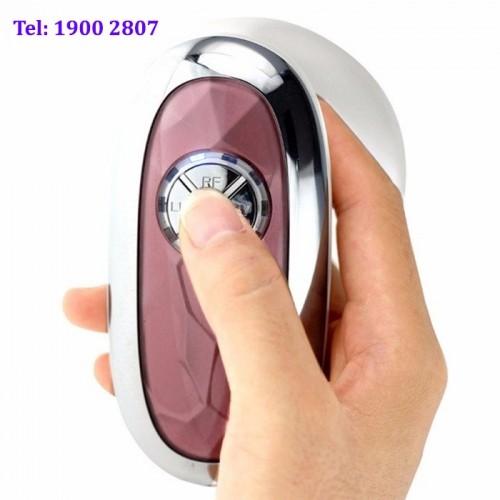 Máy massage giảm béo bằng tần số vô tuyến Radio và đèn hồng ngoại tạo nóng 4in1