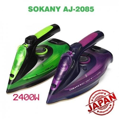 Bàn ủi hơi nước gia đình không dây SOKANY AJ-2085 - 2400W