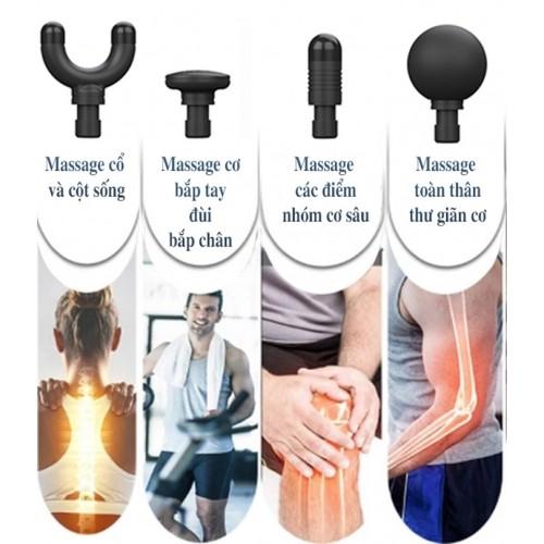 Súng massage cầm tay mini Booster MINI 2 - Cảm biến lực đấm Ai