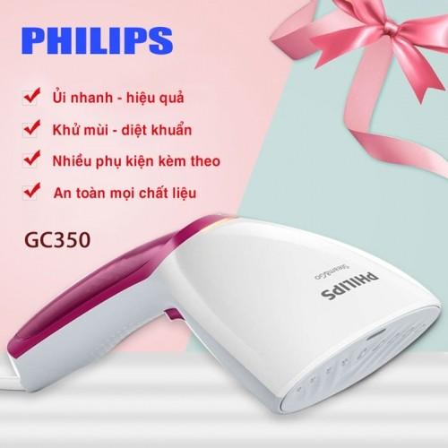 Bàn ủi hơi cầm tay cao cấp PHILIPS GC350 - 1000W