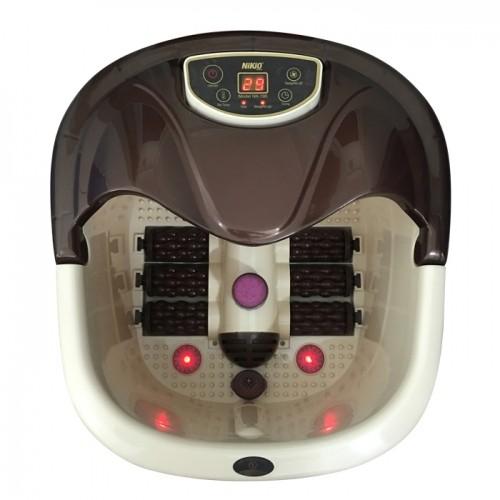 Bồn (chậu) ngâm massage chân Nhật Bản Nikio NK-195 - 4in1