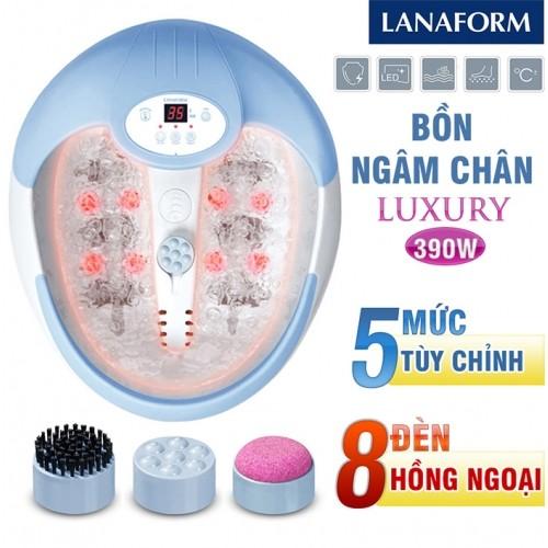 Bồn ngâm và massage chân hồng ngoại Lanaform Luxury LA110415