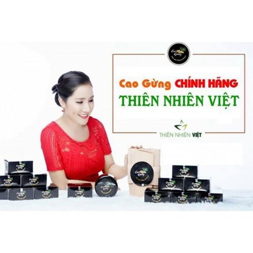Cao gừng massage tan mỡ bụng MC Cát Tường của Thiên Nhiên Việt - Hàng chính hãng