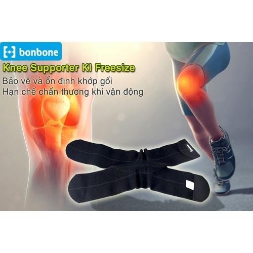 Đai cố định đầu gối Bonbone Knee Supporter KI Freesize