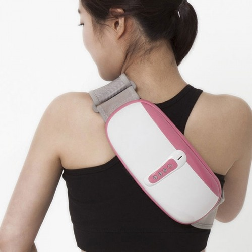 Đai (máy) massage bụng rung lắc và xoay giảm mỡ thừa Nikio NK-169