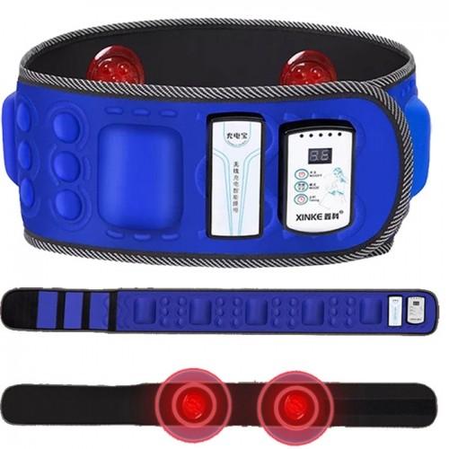Đai massage bụng X5 pin sạc hồng ngoại Wireless Belt