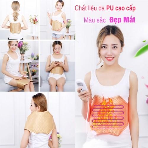 Đai quấn nóng giảm mỡ bụng, trị liệu đau lưng Yijia YJ-909A
