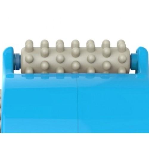 Cây lăn (máy) massage cầm tay mini 3 đầu dùng pin Brain B09