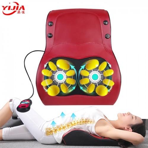 Máy massage lưng ô tô 3 chế độ xoa bóp dân ấn, rung, sưởi ấm YIJIA YJ-M6