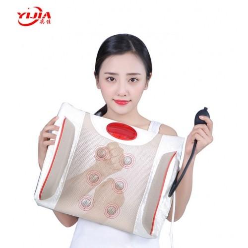 Đệm massage lưng rung nóng nhiệt hồng ngoại YIJIA YJ-M4